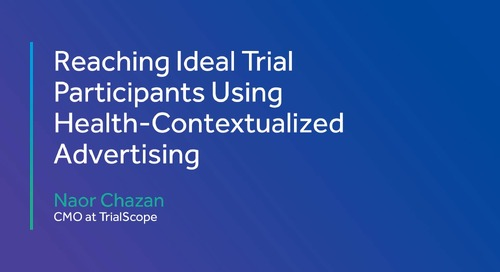 Reaching Ideal Trial Participants Using Health-Contextualized Advertising