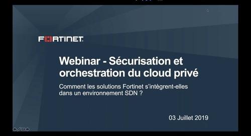 Webinaire Sécurisation et orchestration du cloud privé