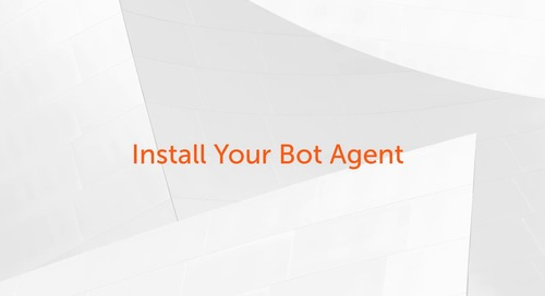 Enterprise A2019 - How to Install Your Bot Agent