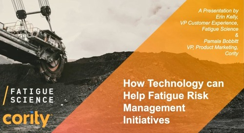 How New Technology Can Help You Build a Fatigue Risk Management Program