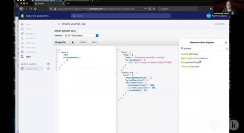 Security@ 2020: A Hacker's Guide to Shopify's GraphQL API