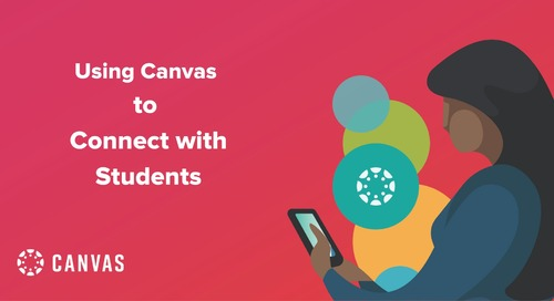 Using Canvas to Connect with Students