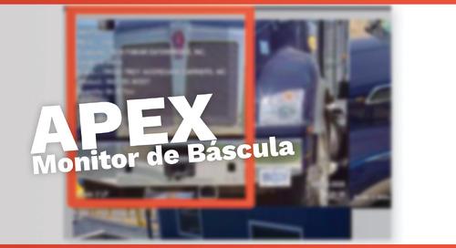 Monitor de Báscula Apex