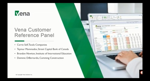Vena Customer Reference Panel June 2018
