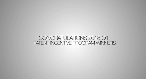 Patent Winner 2018 Q1