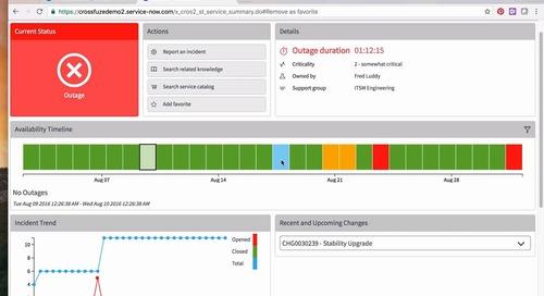 Business Service Tracker Quickfuze Application Demo
