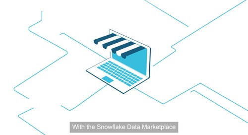 The Snowflake Data Marketplace for Retail & CPG