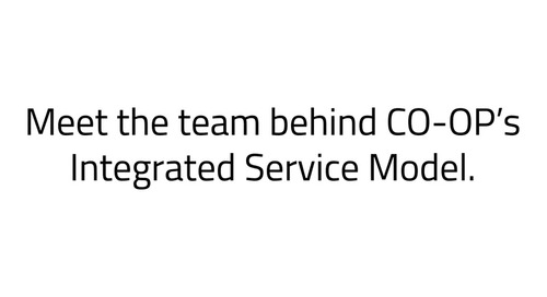 CO-OP Integrated Service Model - Greater Texas FCU