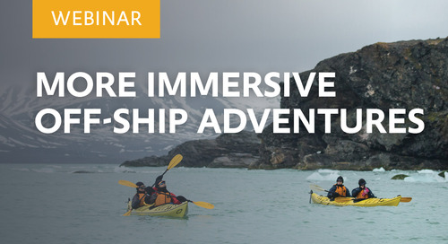 Webinar: Immersive Off-ship Adventures
