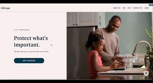 Demo: DTC Life Insurance Origination App