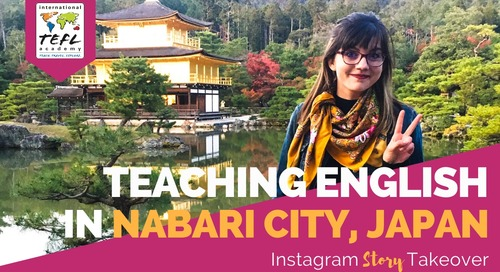Day in the Life Teaching English in Nabari, Japan with Yvonne Worden