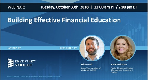 On-Demand Webinar: Building Effective Financial Education