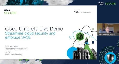 Cisco Umbrella Live Demo
