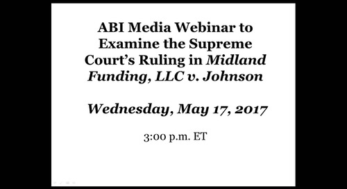 Analysis of SCOTUS Decision - Midland v. Johnson