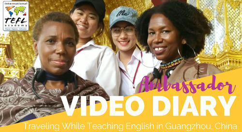 Traveling While Teaching English in Guangzhou, China