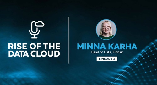 Developing a Long-Term Data Strategy Minna Karha, Head of Data at Finnair