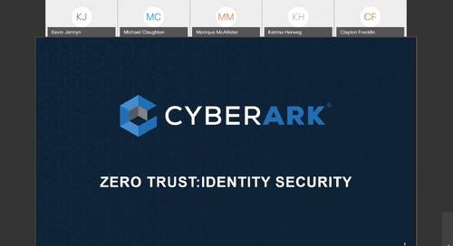 Zero Trust: Identity Security
