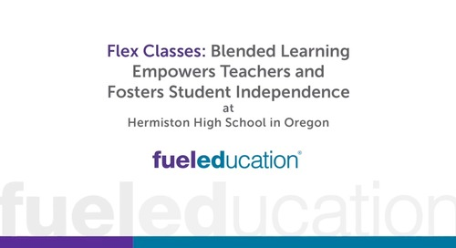 Oregon High School Flexes its Classes with Online Learning
