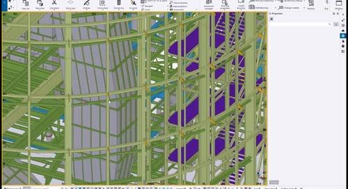 Webinar on Deliver More with Tekla Structures for Steel Detailing