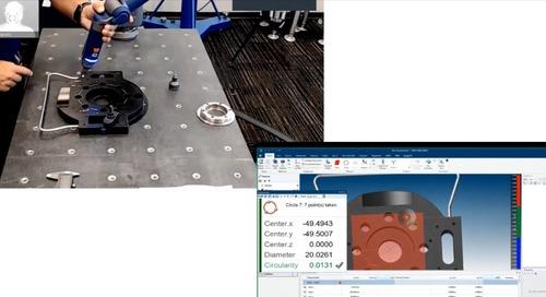 Incomparável Solução de Medição 3D para o chão de fábrica