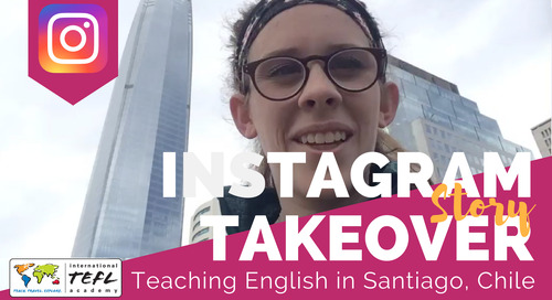 Day in the Life Teaching English in Santiago, Chile with Camille Gix