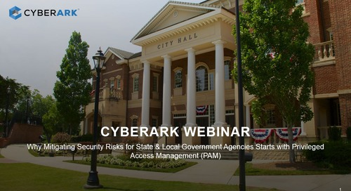 Mitigating Security Risks for State and Local Government Agencies