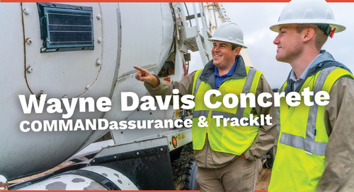 Wayne Davis Concrete | COMMANDassurance & TrackIt