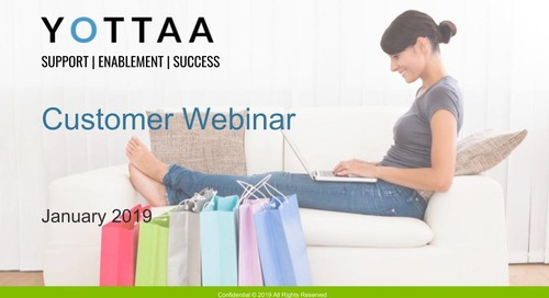 January 2019 Yottaa Customer Webinar