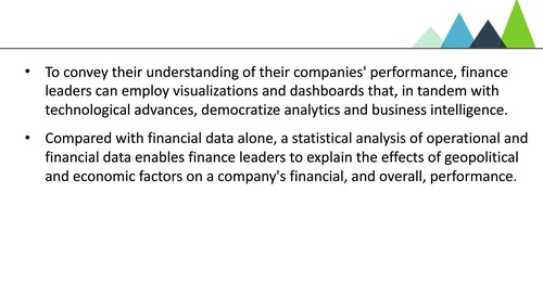 How Advances in Analytics and Business Intelligence Elevate FP&A