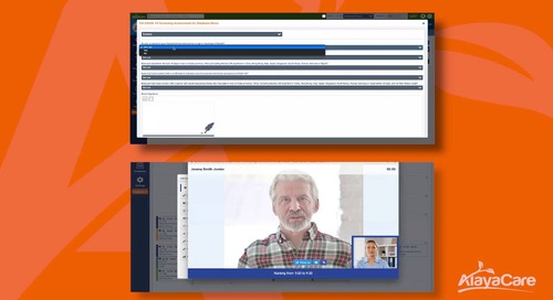 Video Conferencing: Virtual care built for home and community care organizations