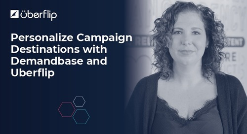 How to Personalize Destinations Using Demandbase and Uberflip