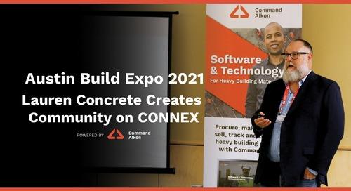 Austin Build Expo 2021 | Lauren Concrete Creates Community on CONNEX