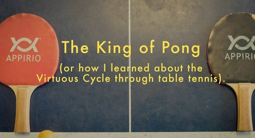 The King of Pong: or how I Iearned about the Virtuous Cycle through table tennis