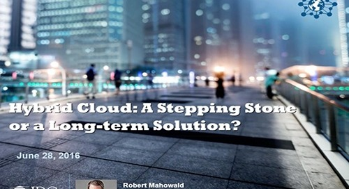 Hybrid Cloud – A Stepping Stone or a Long Term Solution