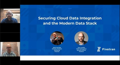 Securing Cloud Data Integration and the Modern Data Stack