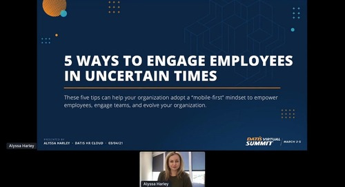 5 Ways to Engage Employees in Uncertain Times