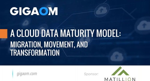 A Cloud Data Maturity Model: Migration, Movement, and Transformation