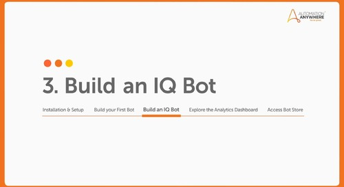 How to extract data from ACORD forms with IQ Bot
