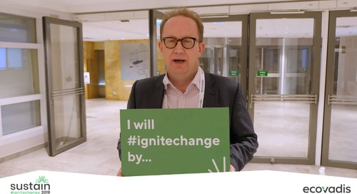 #Sustain2019 Témoignages #IgniteChange Jour 1