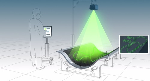 Ply layup & composites with laser projection technology