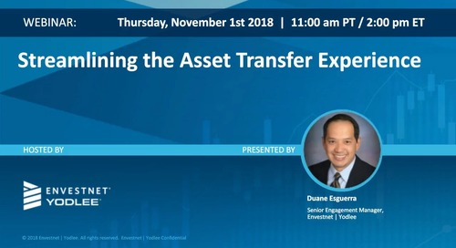 On-Demand Webinar: Streamlining the Asset Transfer Experience
