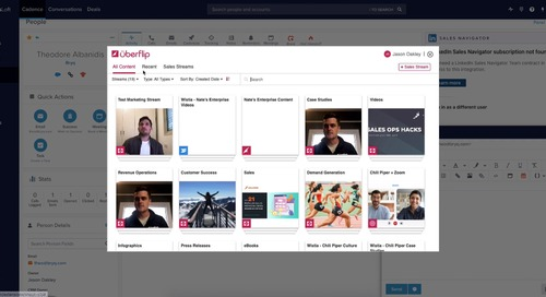 Using the Uberflip Extension in Salesloft