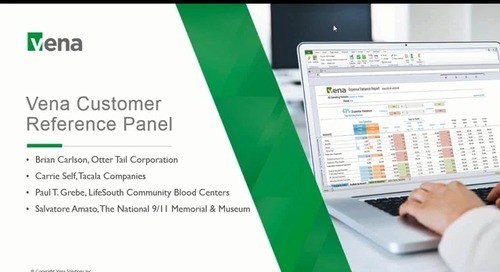 Vena Customer Reference Panel December 2018