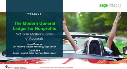 A Modern General Ledger For Nonprofits—Not Your Mother's Chart of Accounts