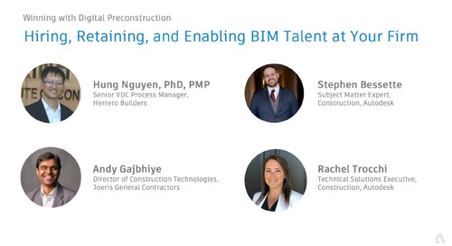 Hiring, Retaining, and Enabling BIM Talent at Your Firm