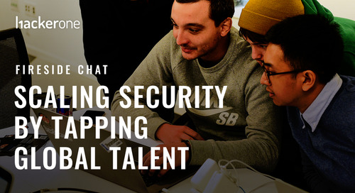 Fireside Chat - Scaling Security by Tapping Global Talent