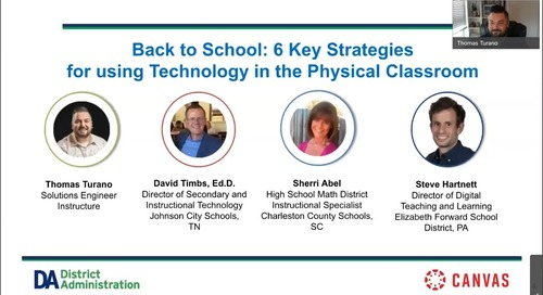Back to School: 6 Key Strategies for using Technology in the Physical Classroom