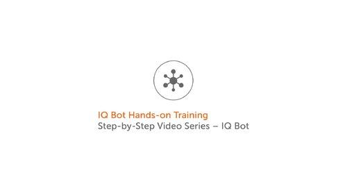 Cognitive Automation & IQ Bot Training 1 - Getting Started with Document Analysis