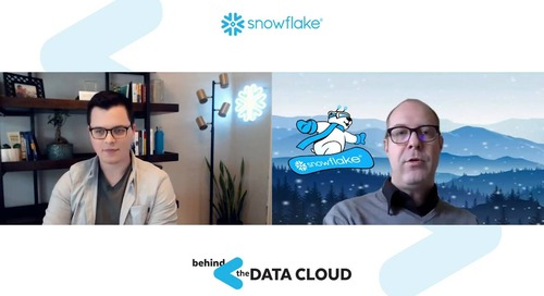 Data Pipeline Processing With Snowflake | Behind the Data Cloud