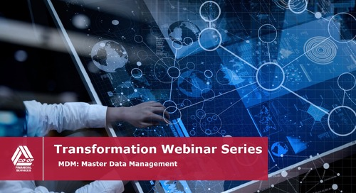 Transformation Webinar [INTERNAL]- Master Data Management (MDM)